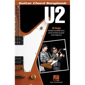 U2 - GUITAR CHORD SONGBOOK 40 SONGS