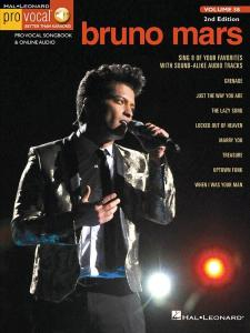 MARS BRUNO - PRO VOCAL FOR MALE SINGERS VOLUME 58 BRUNO MARS + ONLINE AUDIO ACCESS