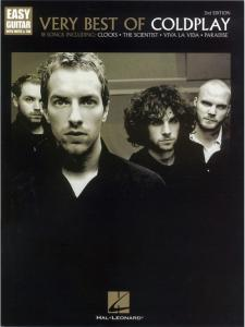 COLDPLAY - VERY BEST OF EASY GUITAR TAB. 2ND EDITION
