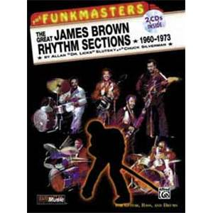 BROWN JAMES - FUNKMASTERS VOL.2 GUITAR TAB. + 2CD