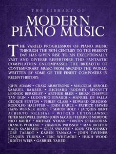 COMPILATION - THE LIBRARY OF MODERN PIANO MUSIC