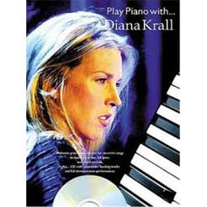 KRALL DIANA - PLAY PIANO WITH... + CD