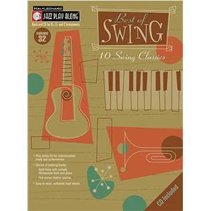COMPILATION - JAZZ PLAY ALONG VOL.032 BEST OF SWING + CD