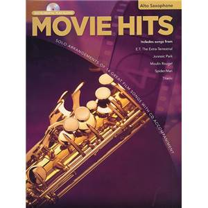 COMPILATION - INSTRUMENTAL PLAY ALONG MOVIE HITS SAXOPHONE ALTO + CD