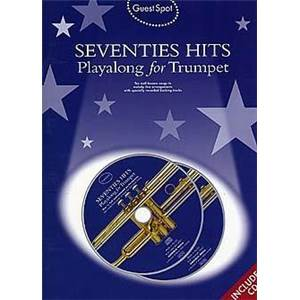 COMPILATION - GUEST SPOT SEVENTIES HITS FOR TRUMPET + 2CDS