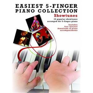 COMPILATION - EASIEST 5 FINGER PIANO COLLECTION : SHOWTUNES