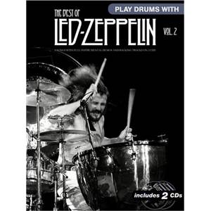 LED ZEPPELIN - BEST OF VOL.2 PLAY DRUMS WITH + CD