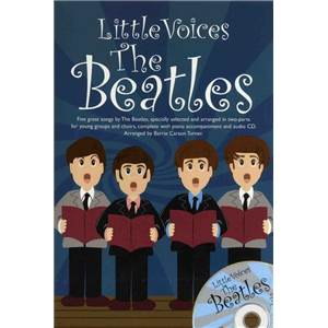 BEATLES THE - LITTLE VOICES SS / PFA + CD