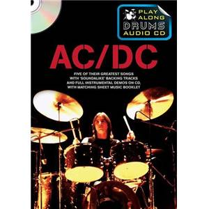AC/DC - PLAY ALONG DRUMS (FORMAT DVD) + CD