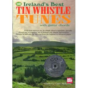 COMPILATION - IRELAND'S BEST TIN WHISTLE TUNES (110)+ CD
