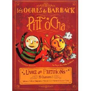 OGRES DE BARBACK - PITT OCHA P/V/G TABLATURES GUITARE