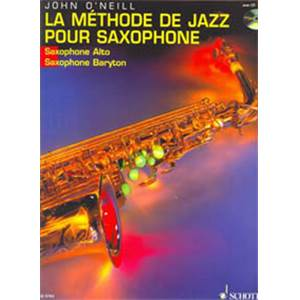 O'NEILL J. - METHODE DE SAXOPHONE ALTO + CD