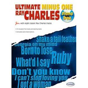 CHARLES RAY - ULTIMATE MINUS ONE PIANO TRAX + CD