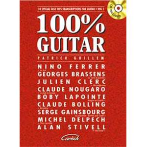PATRICK GUILLEM - 100% GUITAR + CD