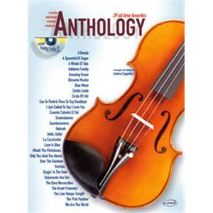 COMPILATION - ANTHOLOGY VIOLON VOL.1 29 ALL TIME FAVORITES + CD