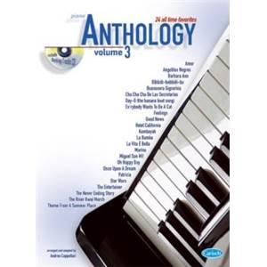 COMPILATION - ANTHOLOGY PIANO VOL.3 24 ALL TIME FAVORITES + CD