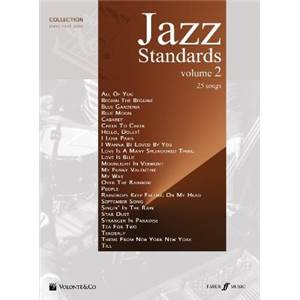 COMPILATION - JAZZ STANDARDS VOL.2 P/V/G