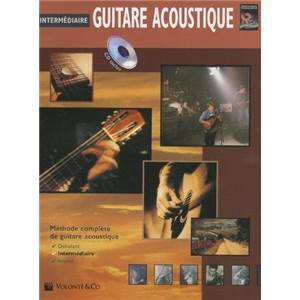 HORNE GREG - GUITARE ACOUSTIQUE INTERMEDIAIRE + CD
