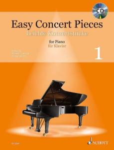 EASY CONCERT PIECES VOL.1 +CD - PIANO