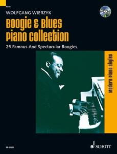 BOOGIE AND BLUES PIANO COLLECTION +CD - PIANO