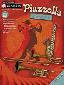 PIAZZOLLA ASTOR - JAZZ PLAY-ALONG VOL.188 + CD