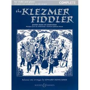 HUWS JONES EDWARD - THE KLEZMER FIDDLER (NEW EDITION) + CD VIOLON/PIANO