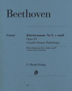 BEETHOVEN - SONATE No8 OP.13 DO MINEUR (GRANDE SONATE PATHETIQUE) - PIANO