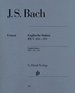 BACH JEAN SEBASTIEN - SUITES ANGLAISES BWV 806 A BWV 811 - PIANO