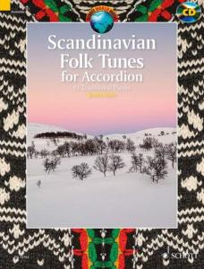 SCANDINAVIAN FOLK TUNES +CD (61 PIECES TRADITIONNELLES SCANDINAVES) - ACCORDEON