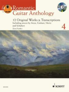 ROMANTIC GUITAR ANTHOLOGY VOL.4 +CD - GUITARE