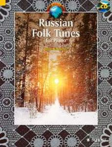 RUSSIAN FOLK TUNES +CD (25 PIECES TRADITIONNELLES RUSSES) - PIANO