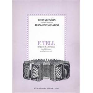 TELL F - REGALON ET ANORANZAS - BANDONEON
