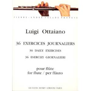 OTTAIANO LUIGI - EXERCICES JOURNALIERS (36) - FLUTE