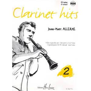ALLERME JEAN-MARC - CLARINET HITS VOL.2 + CD - CLARINETTE ET PIANO
