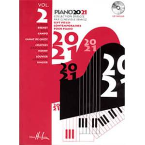 IBANEZ GENEVIEVE - PIANO 20-21 VOL.2 + CD - PIANO