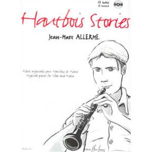 ALLERME JEAN-MARC - HAUTBOIS STORIES + CD - HAUTBOIS ET PIANO