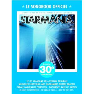 BERGER M. / PLAMONDON L. - STARMANIA LE SONGBOOK OFFICIEL P/V/G