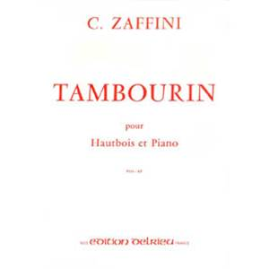 ZAFFINI CLEMENT - TAMBOURIN - HAUTBOIS ET PIANO