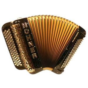 ACCORDEON BOUTONS HOHNER FUN PRO 96 B NOIR MIRA