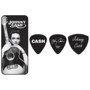 BOITE X 6 MEDIATORS DUNLOP JOHNNY CASH  JCPT01M
