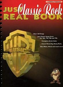 COMPILATION - JUST CLASSIC ROCK REAL BOOK