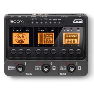 MULTI-EFFETS-GUITARE ZOOM G3