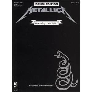 METALLICA - BLACK VOL.DRUMS