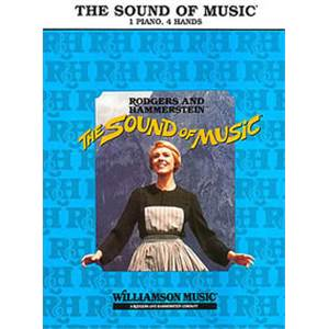 RODGERS / HAMMERSTEIN - THE SOUND OF MUSIC PIANO 4 MAINS