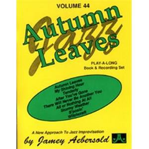 AEBERSOLD JAMEY - VOL. 044 AUTUMN LEAVES + CD
