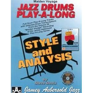 COMPILATION - JAZZ DRUMS AEBERSOLD 54 + CD