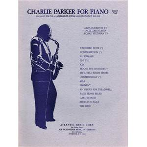 PARKER CHARLIE - FOR PIANO SOLO VOL.1 Épuisé