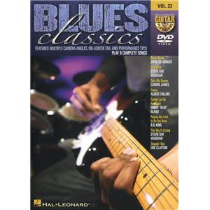 COMPILATION - GUITAR PLAY ALONG DVD VOL.23 BLUES CLASSICS