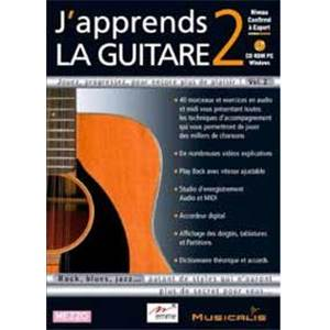 J'APPRENDS LA GUITARE VOL.2 CD ROM
