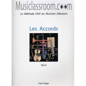 FEGER YVES - MUSICLASSROOM.COM VOL.4 ACCORDS + CD